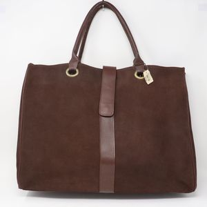 Bath & Body Works Suede Leather Tote